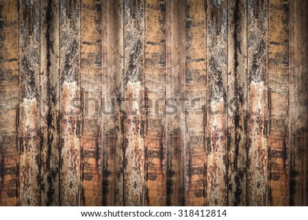 horizontal wood texture and background