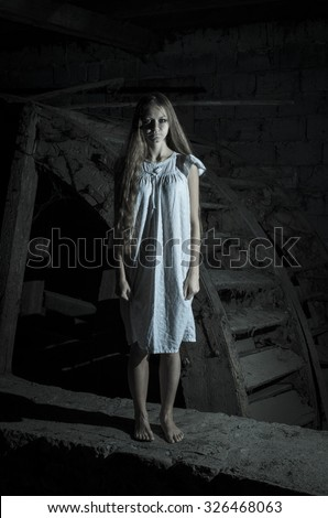 Ghost Girl Stock Images, Royalty-Free Images & Vectors