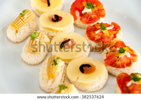 Hors D'oeuvres - stock photo