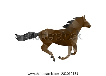 horse of polygons
