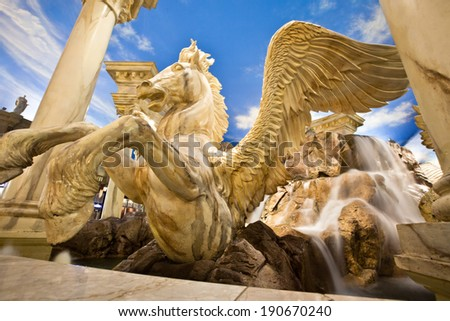 Horse Sculpture - stock photo