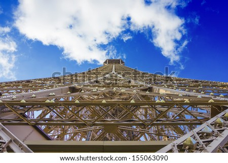 Horse statue of The Sacre Coeur - stock photo