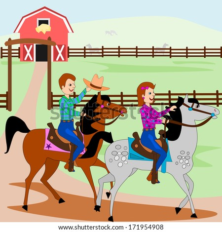 Western Horse Riding Clipart Debspoons's...
