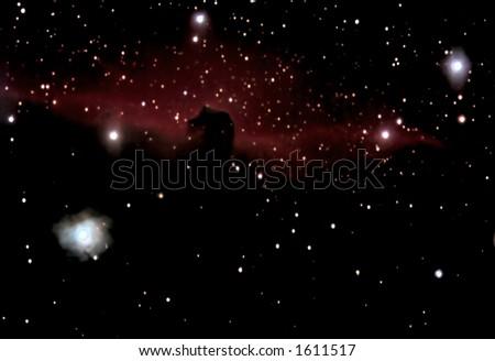 Horsehead Nebula - stock photo