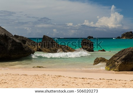 Horseshoe Bay is perhaps the most famous beach in Bermuda. It has been rated the #8 beach in the world by Trip Advisor. A very popular tourist spot, it lies on the main island's south coast.