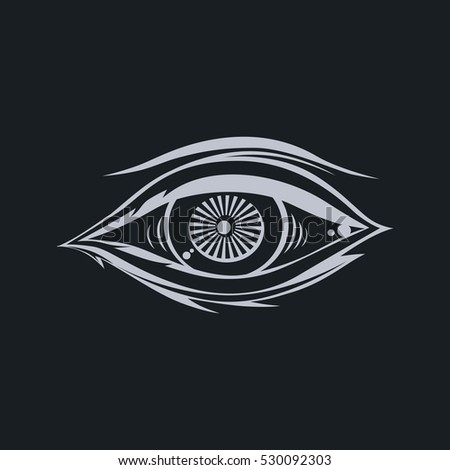 Horus One Eye God Stock Illustration 530092303 Shutterstock