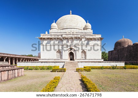 Hoshang Shah Tomb in Jama Masjid in Mandu, Madhya Pradesh, India