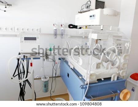 Hospital interior. - stock photo