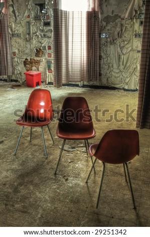 Hospital Room Chairs - stock photo
