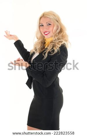 hostess - stock photo