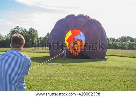 Hot Air Ballon 1 - stock photo