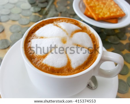 Hot coffee cup backgrounds