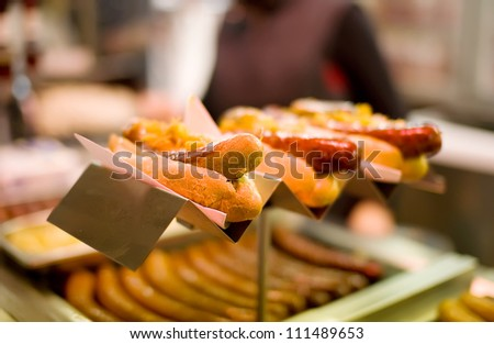 Hot-dog (Grilled sausages)