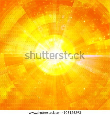 hot explosion summer background