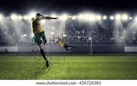 Hot football moments