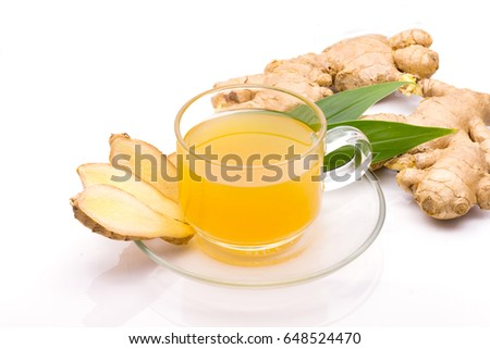 how to use ginger in hot tea