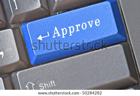 Hot key for approval