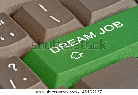 Hot key for dream job