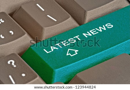 Hot key for latest news