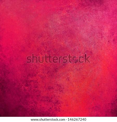 hot pink background red orange color tones, vintage grunge background texture sponge brush strokes, purple border, pink graphic art image, web template backgrounds, valentine pink paper, paint canvas - stock photo