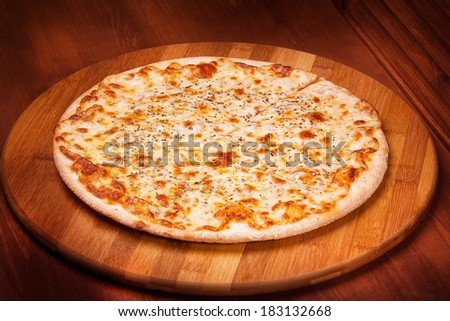 Hot Pizza - stock photo