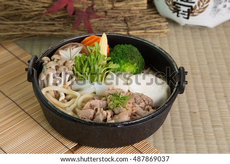 hot pot of pork