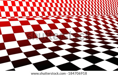 Hot racing flag background 3 - stock photo