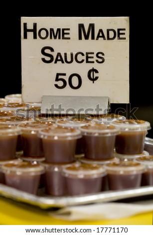 Hot sauce - stock photo