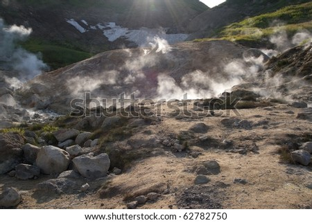Hot springs valley