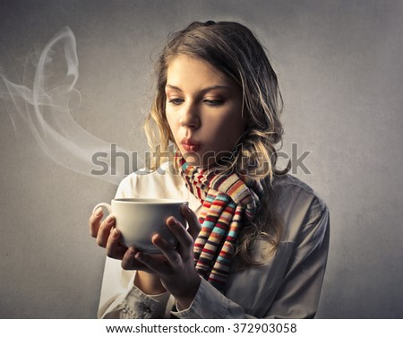 Hot tea - stock photo