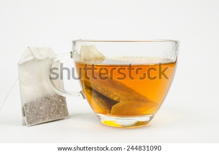 hot tea (teabags)
