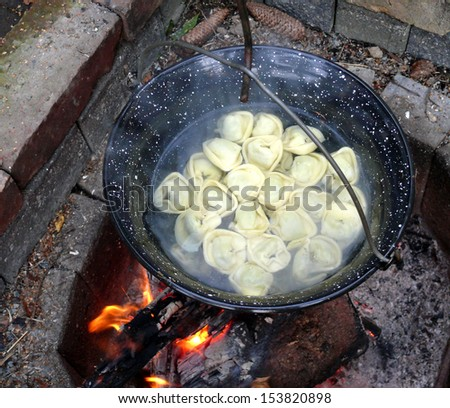 hot water - stock photo