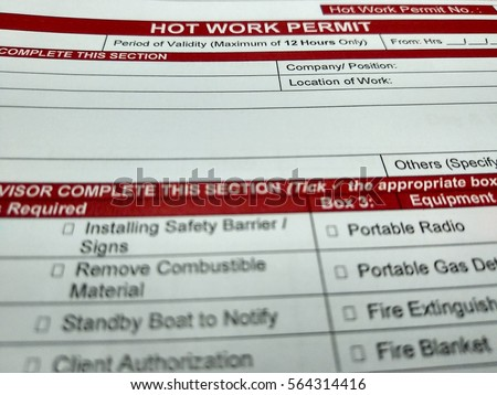 hot works permit template - contemporary hot work permit template gallery example
