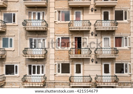 Hotel apartment balcony texture pattern detail stock photo for Terrace texture