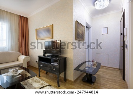Hotel apartment interior