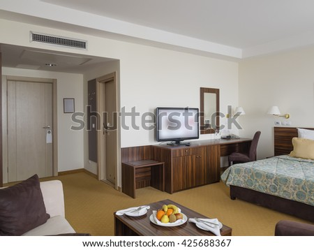 Hotel apartment room