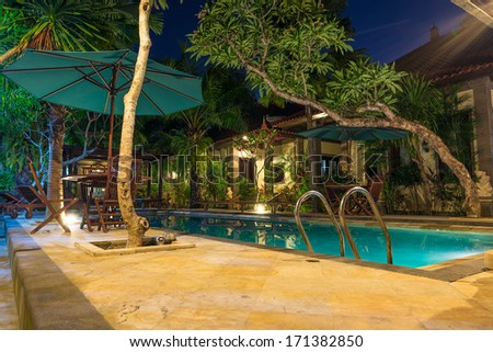 Hotel Bali, Indonesia - stock photo