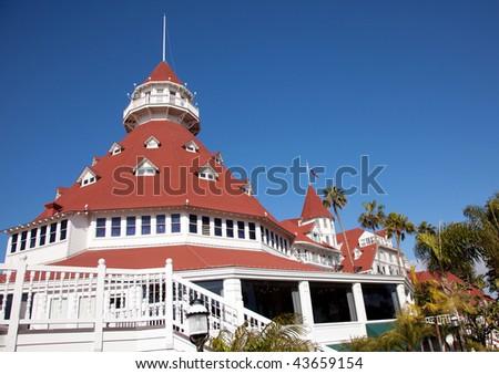 Hotel Del Coronado, San Diego, California - stock photo