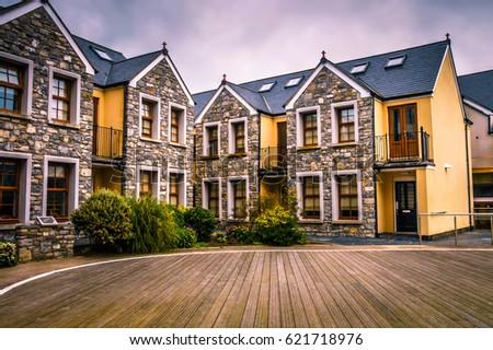 Hotel Facade Hotel Windows Luxury Hotel Stock Photo 621718976 ...