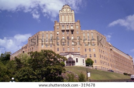 Hotel, Hot Springs Arkansas