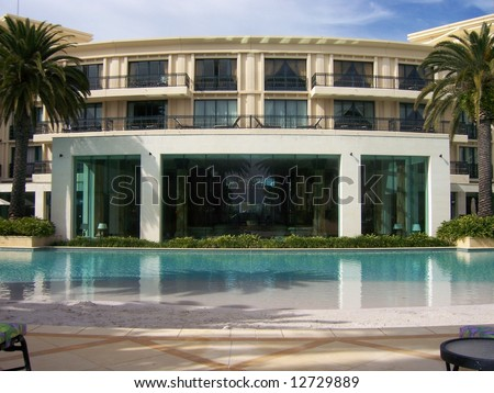 hotel in Australia - stock photo