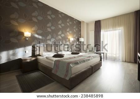 hotel interior apartment - stock photo