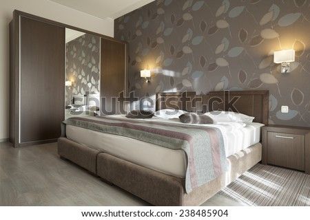 hotel interior apartment - stock photo