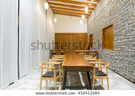 Hotel interior decoration structure