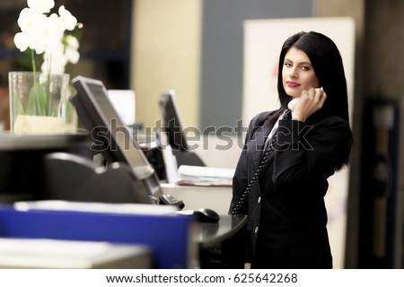 Receptionist Stock Images, Royalty-Free Images & Vectors ...