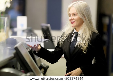 Desk Clerk Stock Images, Royalty-Free Images & Vectors ...