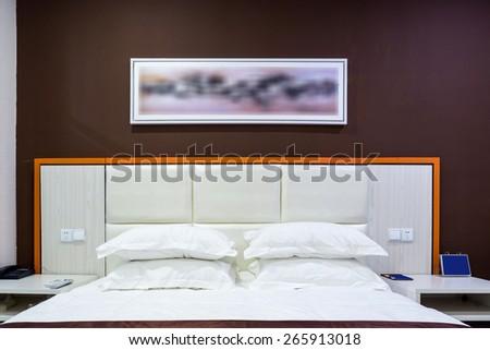Hotel rooms - stock photo