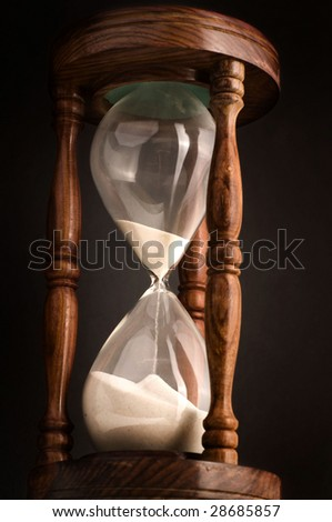 Hour glass - stock photo