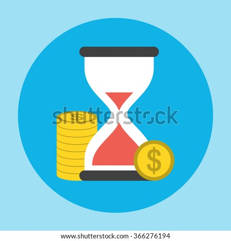 Hourglass with the Penny Icon