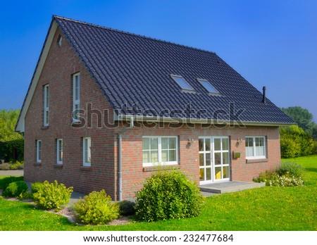 house - stock photo